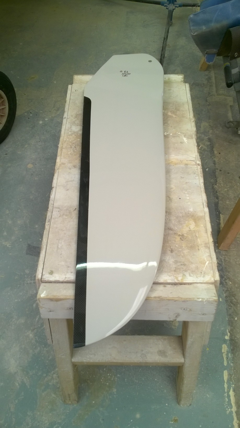 More information on RS short Aero style rudder blade